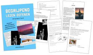 Begrijpend Lezen Oefenboek voor groep 6, 7 en 8